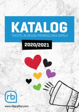 Katalog tekstila in drugih promocijskih daril 2020/2010 - RB Grafika