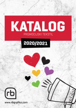 Katalog promocijski tekstil 2020/2010 - RB Grafika